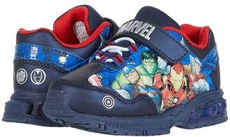 Favorite Characters Avengerstm Lighted Athletic AVS366 (Toddler/Little Kid) (Blue) Boy's Shoes