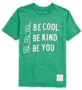 Original Retro Brand Boy's 'Be Cool Be Kind Be You' Graphic T-Shirt