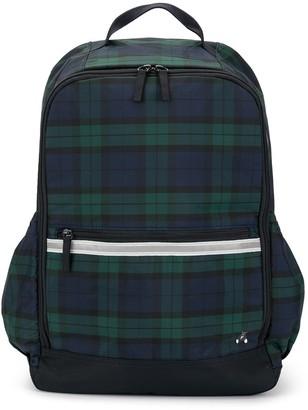 Familiar Plaid Backpack