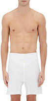 Thom Browne MEN'S COTTON OXFORD BOXER SHORTS