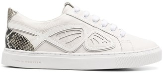 Sophia Webster Wing-Applique Low-Top Trainers