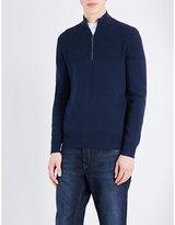 Michael Kors Textured Cotton-blend Jumper