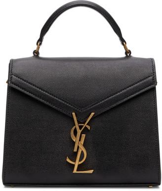 Saint Laurent Black Mini Cassandra Bag