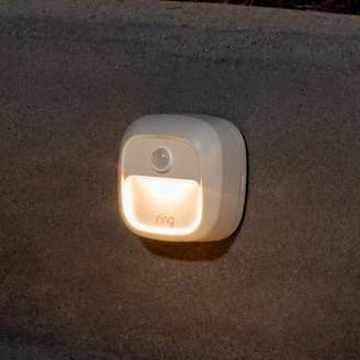 Ring Smart Battery Powered LED Deck Light Fixture Finish: White