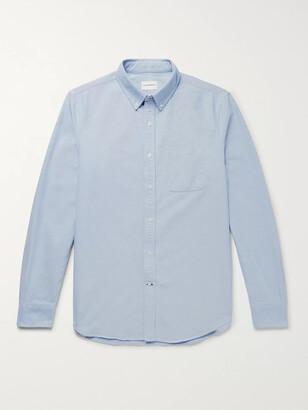 Club Monaco Button-Down Collar Cotton Oxford Shirt
