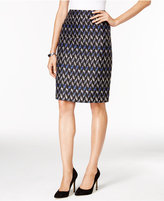 Kasper Petite Tweed Pencil Skirt