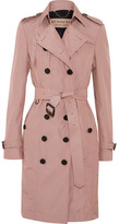 Burberry The Sandringham Shell Trench Coat - Antique rose