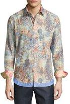 Robert Graham Limited Edition Bollywood Sport Shirt, Multicolor