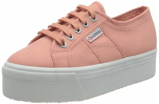 Superga Women's 2790ACOTW Linea UP and Down Oxford Flat