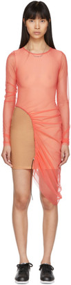Supriya Lele Pink Mesh Dress