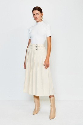 Karen Millen Wrap Pleat Skirt