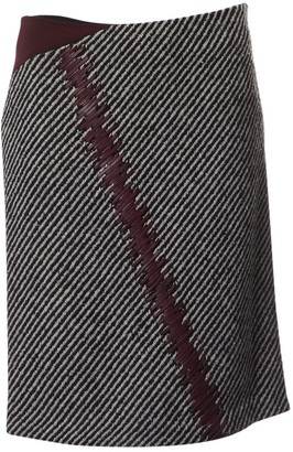 Fendi Black Wool Skirts
