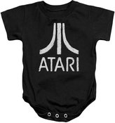 Atari Video Games Classic Logo Distressed Infant Romper Snapsuit