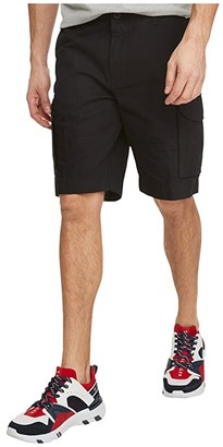 Tommy Hilfiger Cargo Shorts (Deep Knit Black) Men's Shorts