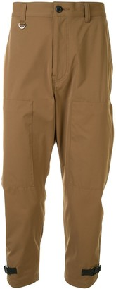 Sophnet. Buckle Detail Chinos