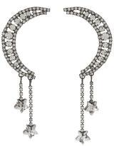 Jennifer Behr Crystal Luna Earrings