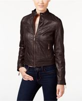 Joujou Jou Jou Juniors' Faux-Leather Bomber Jacket