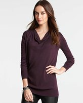 Ann Taylor Cowl Neck Tunic Sweater