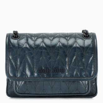 Miu Miu Blue shine leather bag