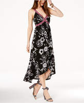 INC International Concepts I.n.c. Faux-Wrap Maxi Dress, Created for Macy's