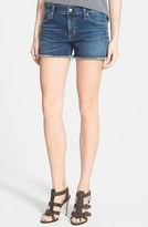 Citizens of Humanity Women's 'Ava' Frayed Denim Shorts