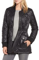 French Connection Women's Quilted Anorak Jacket