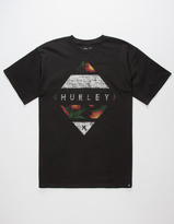 Hurley Grain Mens T-Shirt