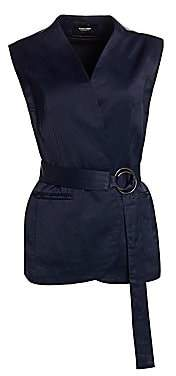 Rachel Comey Women's Circuit Satin Belted Vest