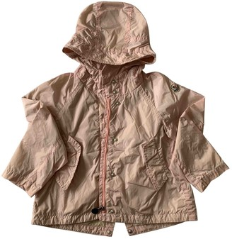 Moncler Pink Synthetic Jackets & Coats
