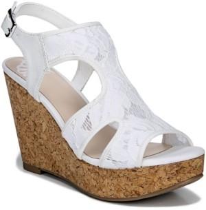 Fergalicious Women's Kenzie Slingbacks Wedge Sandal Women's Shoes