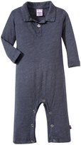 City Threads Polo Rompers (Baby) - Midnight-18-24 Months