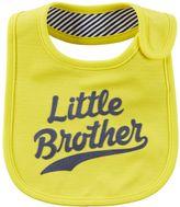 Carter's Baby Boy Family Slogan Bib