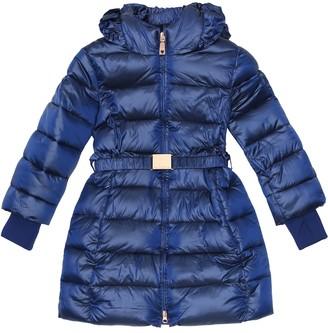 MonnaLisa Belted puffer coat