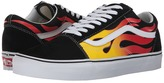 Vans Old Skool Black/Black/True White) Skate Shoes