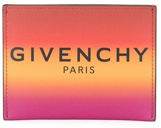 Givenchy ombre effect 3CC cardholder