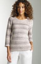 J. Jill Tone-on-tone striped sweater