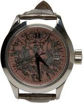 John Isaac Pink Dial Watch