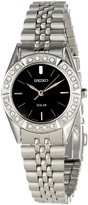 Seiko Women's SUP091 Dress Solar Classic Solar Watch