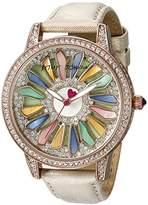 Betsey Johnson Women's BJ00563-01 Analog Display Quartz Watch