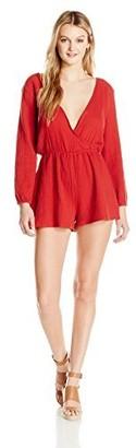 The Fifth Label Women's Long Sleeve Short Romper