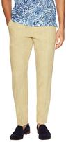 Etro Linen Solid Slant Pocket Trousers