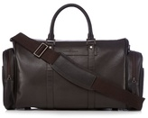 J By Jasper Conran Designer Brown Grain Leather Holdall