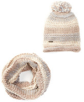 Steve Madden Time To Shine Scarf and Beanie Set