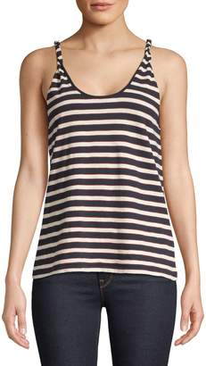 Current/Elliott Current Elliott Striped Twisted Tank Top