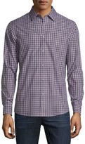 Michael Kors Gunnar Tailored-Fit Check Sport Shirt