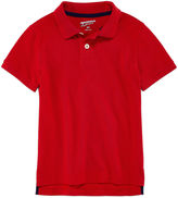 Arizona Short Sleeve Solid Pique Polo Shirt - Preschool