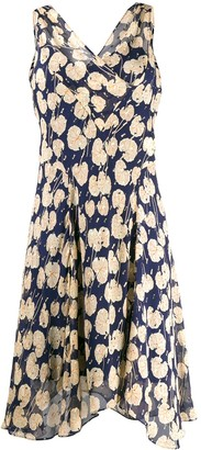 Diane von Furstenberg Printed Wrap-Effect Dress