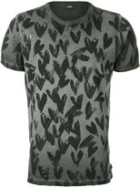Diesel heart print T-shirt