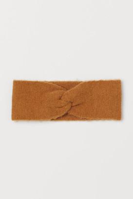 H&M Knit Headband - Beige