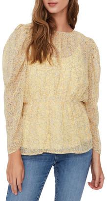 Vero Moda Lucia Printed Long Sleeved Blouse